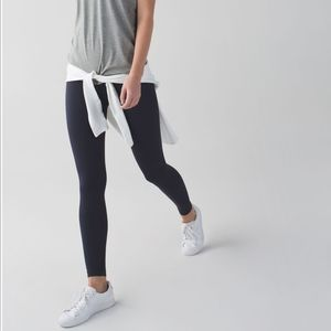 Lululemon Zone In Tight Naval Blue Compression